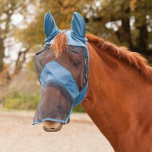 Waldhausen Premium Fly Mask Blue
